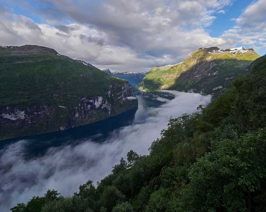 The Geiranger fjord, a known destination for cruise ships but still a great place if you have tim...