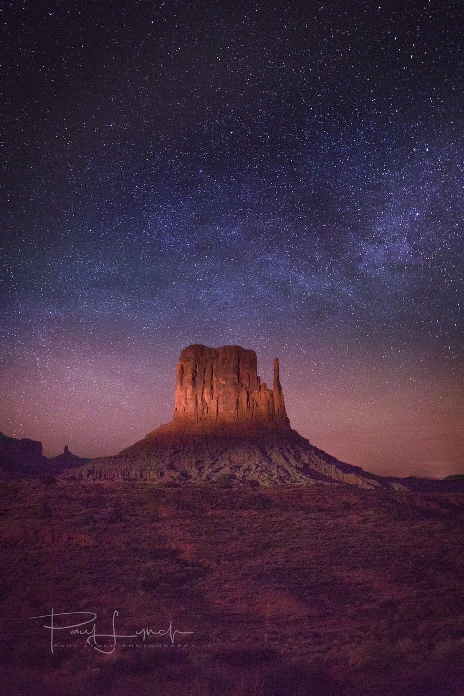 Monument Valley Milky Way  by WorldPix - The Night And The Mountains Photo Contest