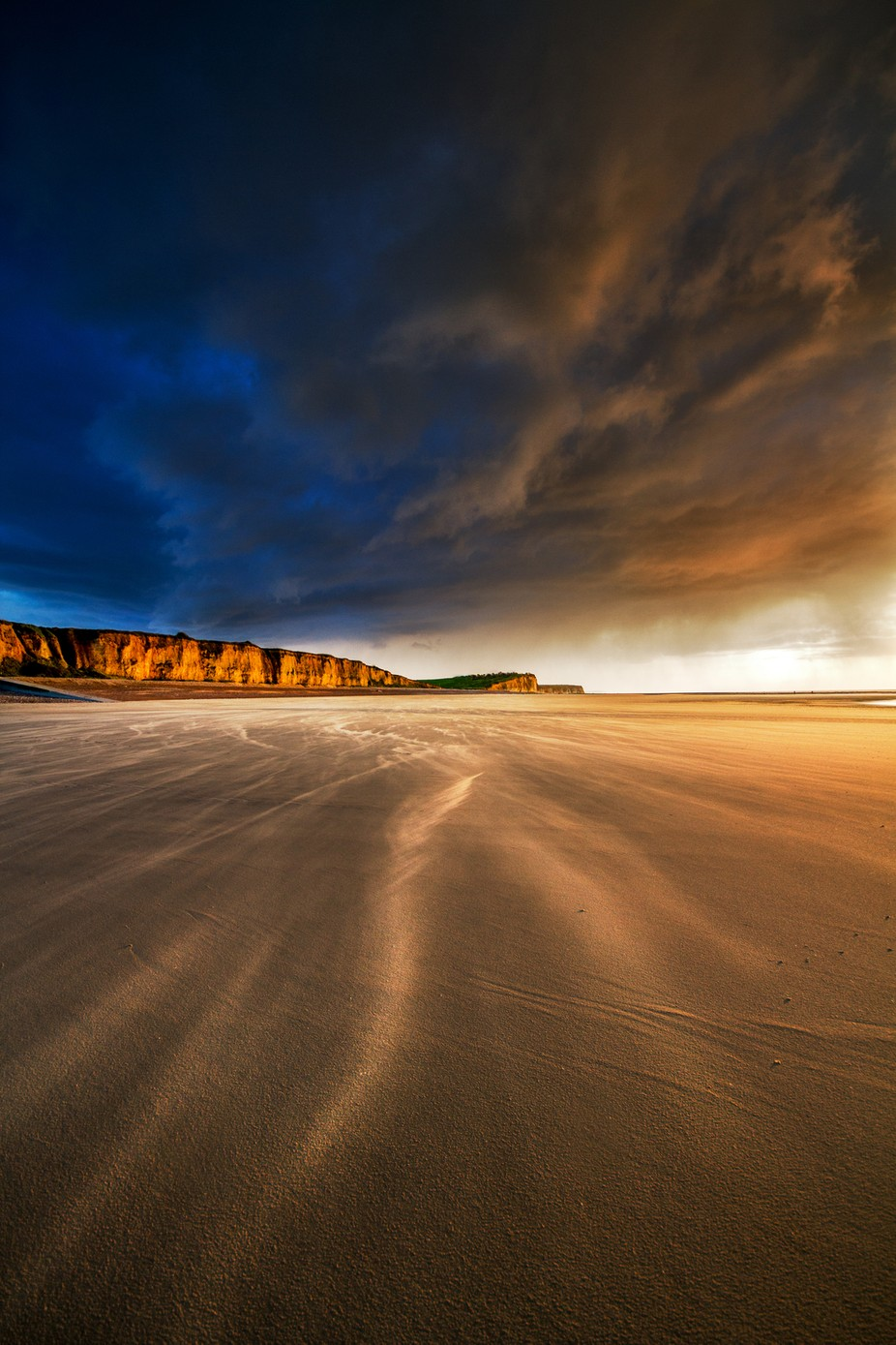 Evening sands by RuudPeters - Landscapes And Sand Photo Contest