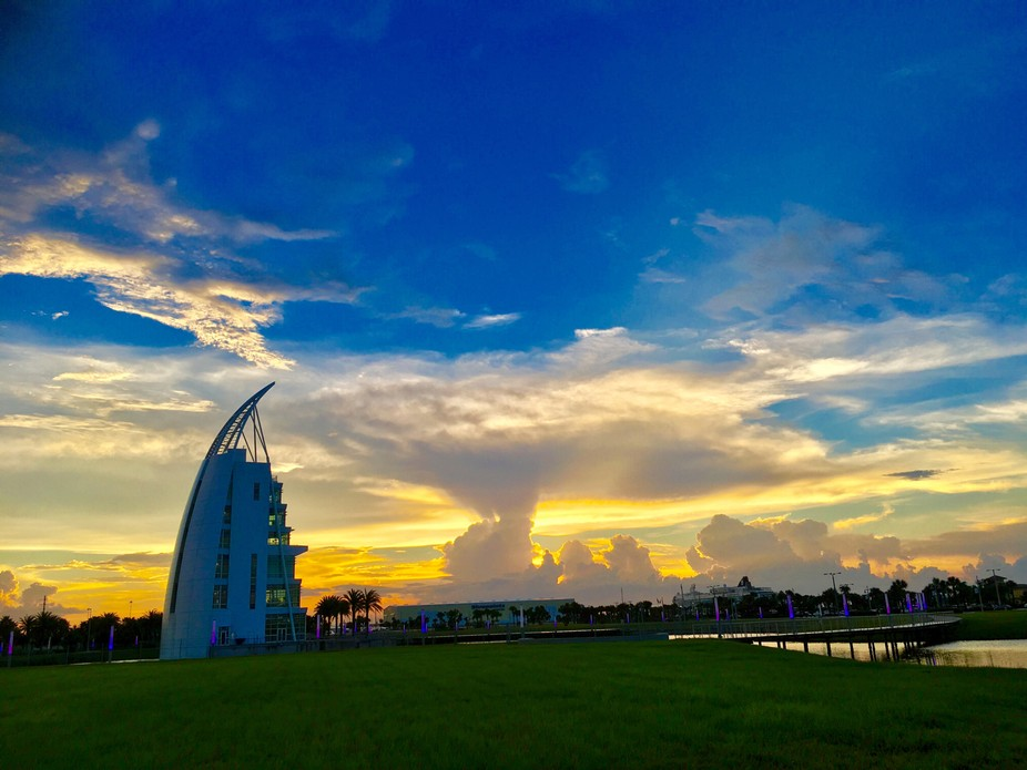 Cape Canaveral Sunset !!