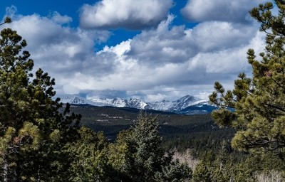 Colorado's Front Range in early winter