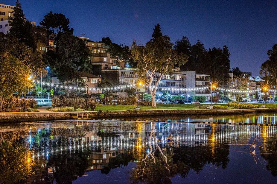 Lake Merritt Reflections - Oakland CA