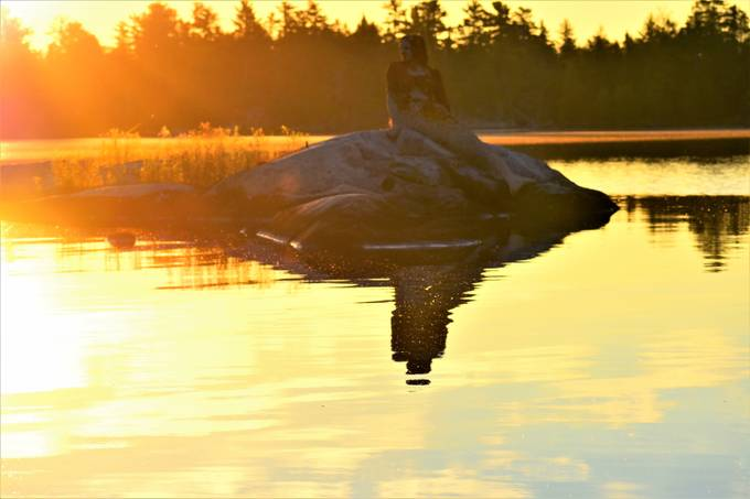 Taken on Rainy Lake, Ontario, Canada at sunrise Nikon D3400  Nikon 70-300 lens