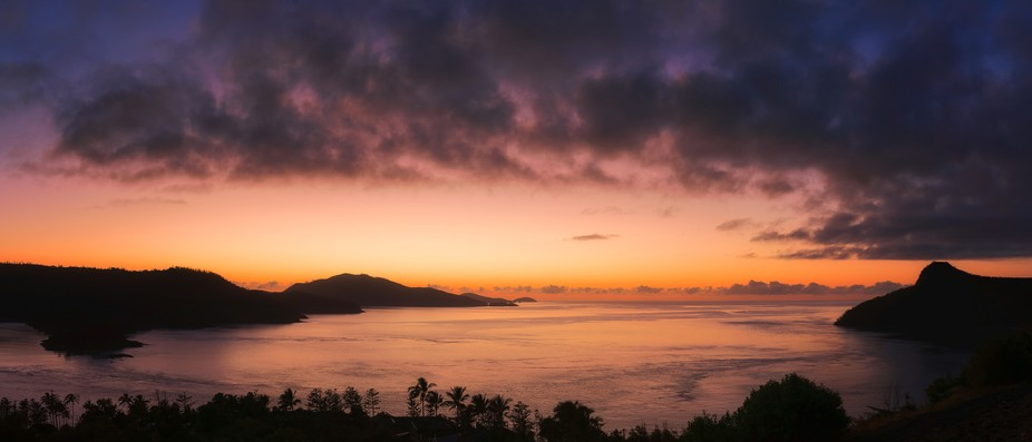 Whitsundays before sunrise