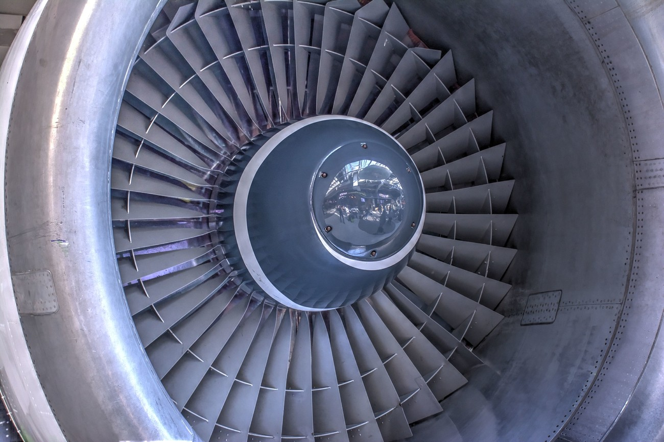 Jet Engine - Amsterdam Airport