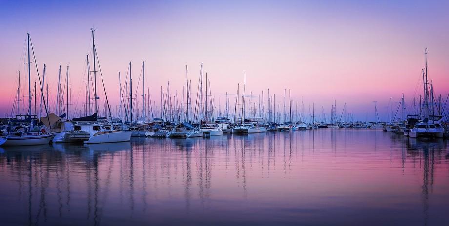 Boats landscape