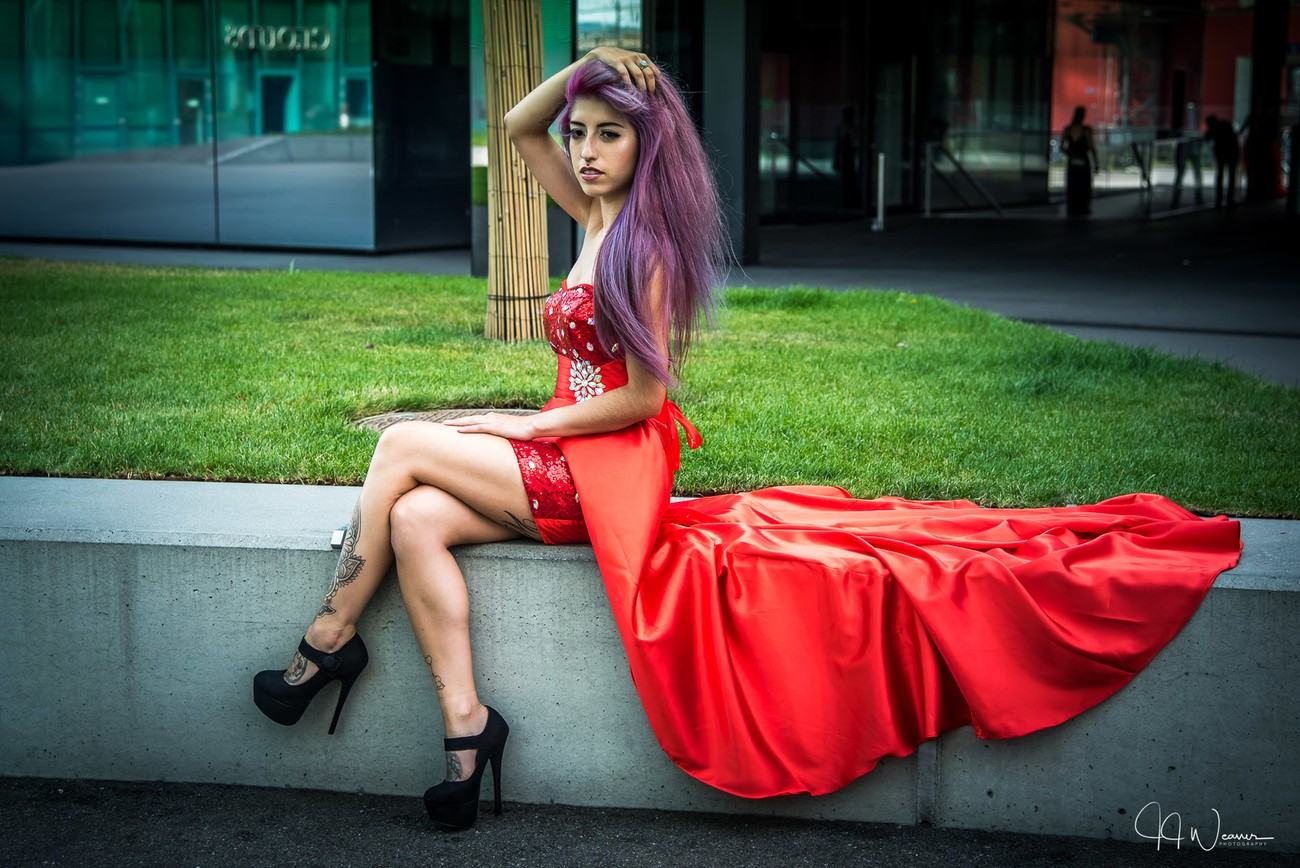 The Red dress 4