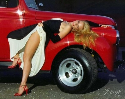 Red Shoes Red Truck