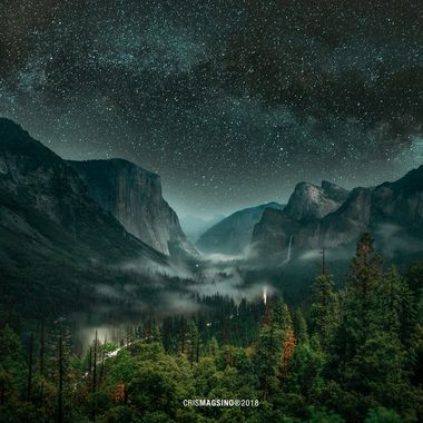 The surreal Yosemite National Park.