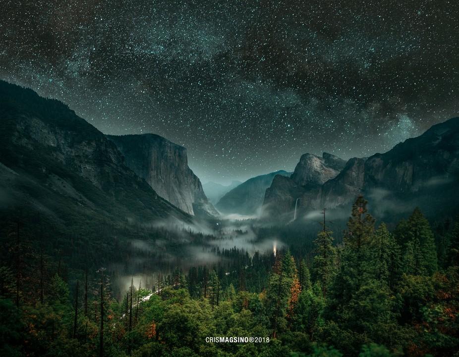 The surreal Yosemite National Park.