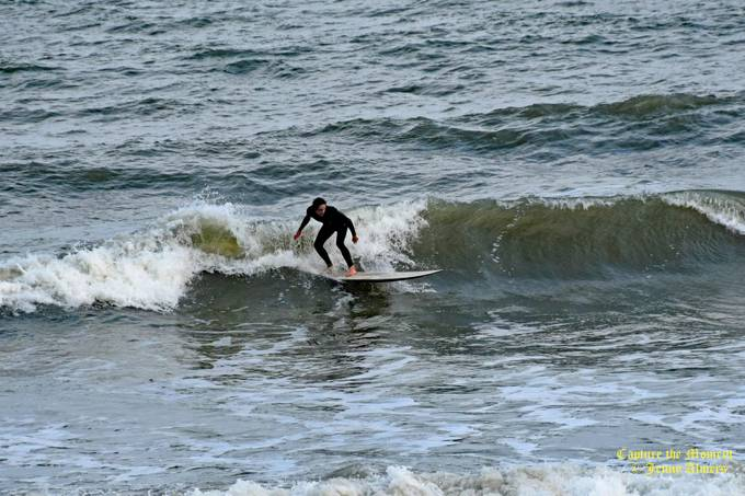 Catching the Wave at Folly Beach