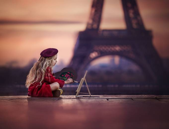 Little painter by robertabaneviciene - This Is Europe Photo Contest