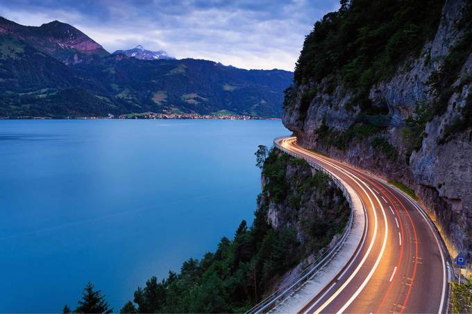 Lake Thun, Switzerland by Wim-Solheim - Summer Road Trip Photo Contest