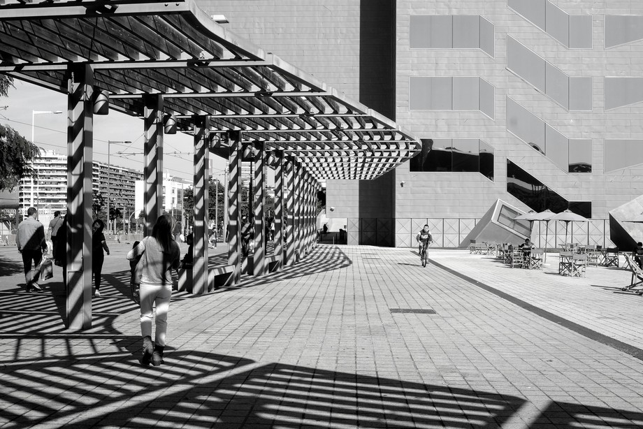 A beautiful play of shadow and structure