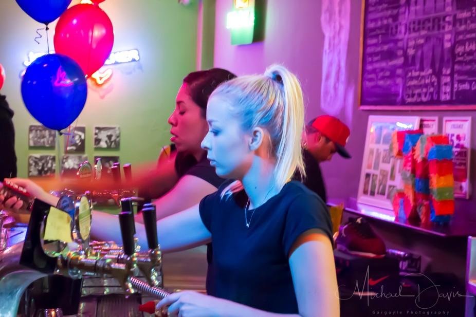 Barmaids @ Work