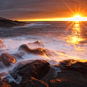 Barents sea. Kola peninsula.