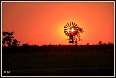 Mooiplaas Sunset