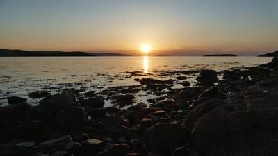 Afore the setting sun x Lyndale , Isle of Skye x