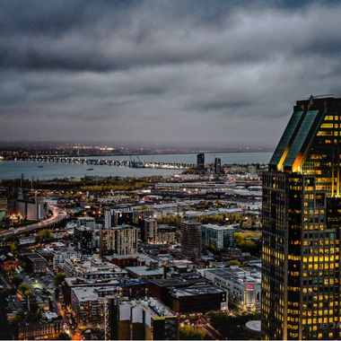 Montreal cloudy
