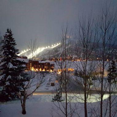 Winter Ski Resort Steamboat Springs, CO