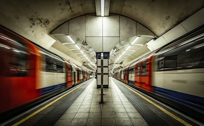 London Tube Station by NickMoulds - Image Of The Month Photo Contest Vol 34