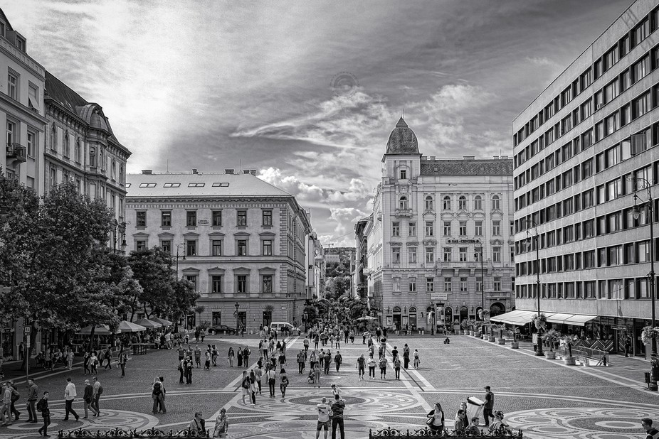 Impressions Budapest in BW (IV)