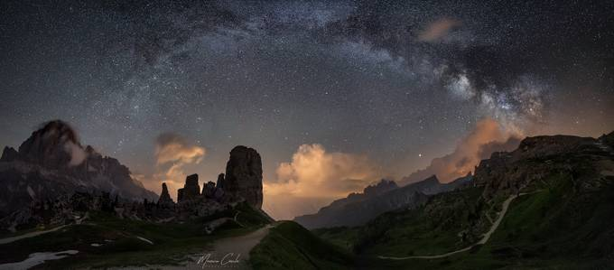 Starry night at the 5 Towers by MaurizioCasulaPhoto - Capture The Milky Way Photo Contest