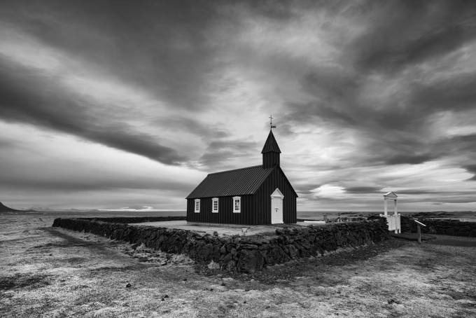 Budir Church Mono by iamcordz - Our World In Black And White Photo Contest