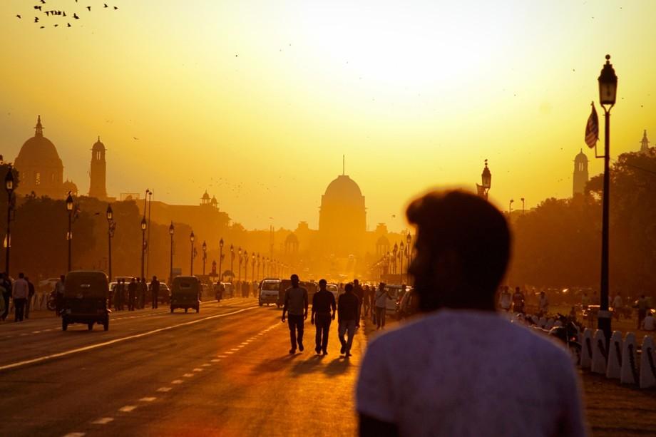 Golden Hours at Rashtrapati Bhawan,New Delhi