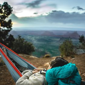 This was a wonderful campsite that I found in Moab, Utah it had one of the most amazing views I've seen there and you're perched right ...