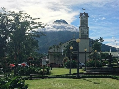 The Volcano and the Church