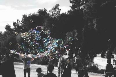 Bubbled