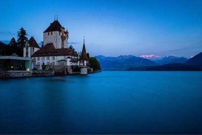 Oberhofen Castle, Switzerland