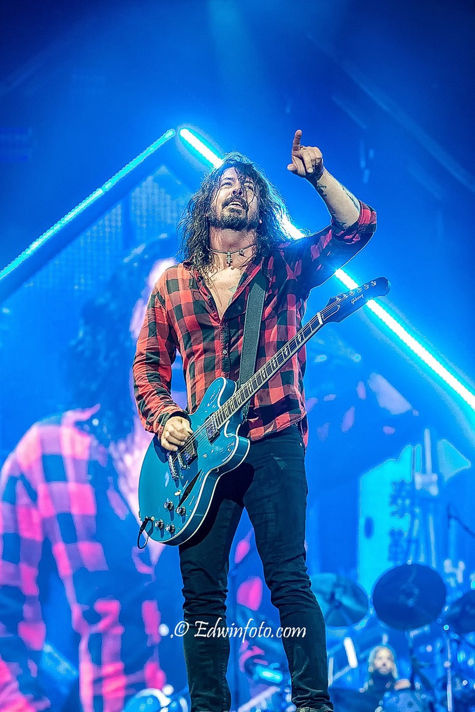 Dave Grohl of Foo Fighters by edwinhoudevelt - Music And Concerts Photo Contest