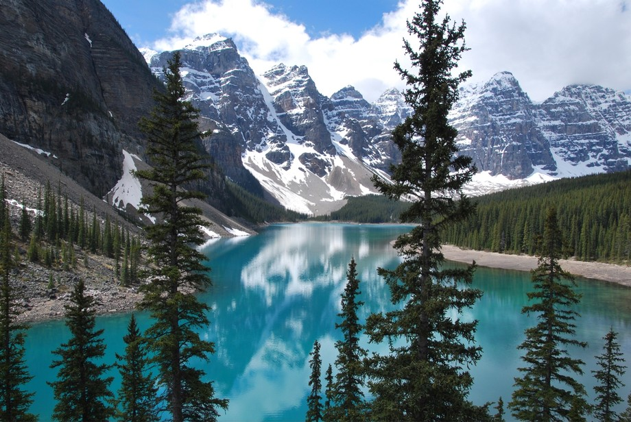 Lake Moraine, Banff Alberta.  Unfiltered beauty.