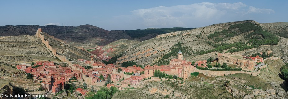 Pano consisting of 5 photos of this historical village. More than 700 years.