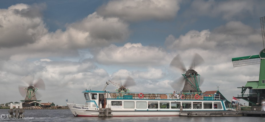 A great place to visit when you are in the Netherlands is the Zaanse schans near Amsterdam. Histo...