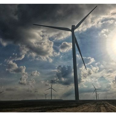 Amazon windfarm, Elizabeth City, NC