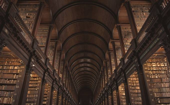 Trinity College by maryannwamboldt - Ceilings Photo Contest