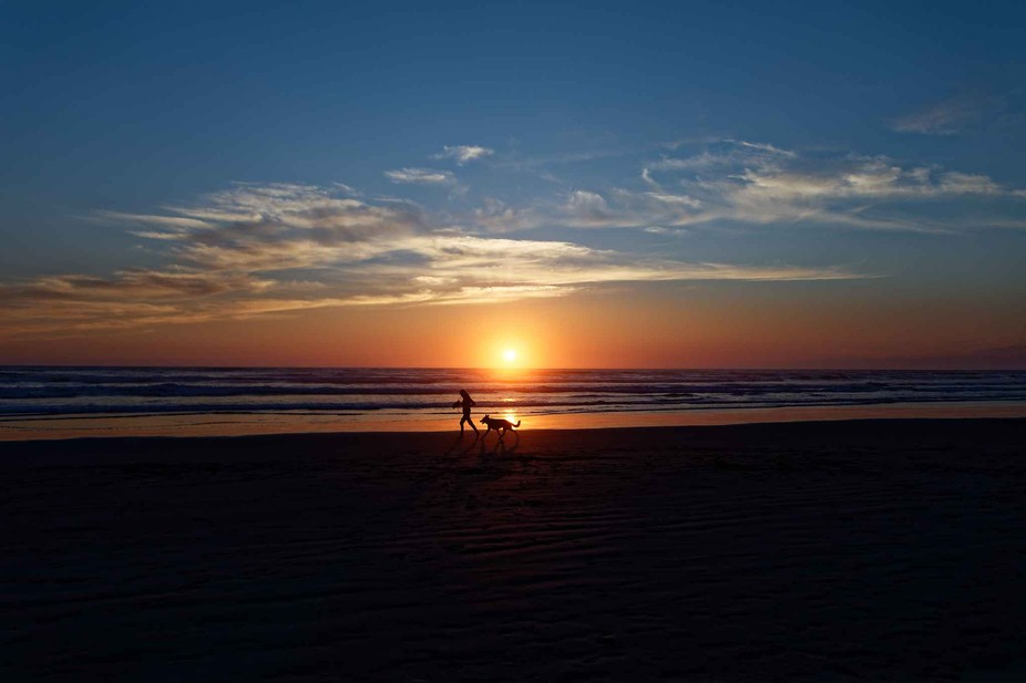 This was shot at the beach about one hundred yards from the Inn at the Shore in Seaside, OR.