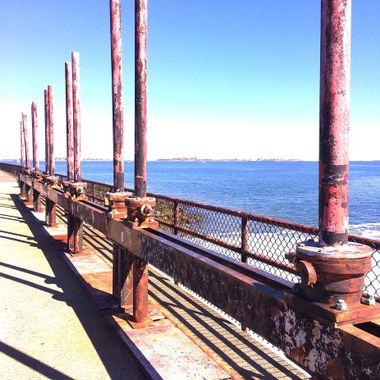 Industrial seashore