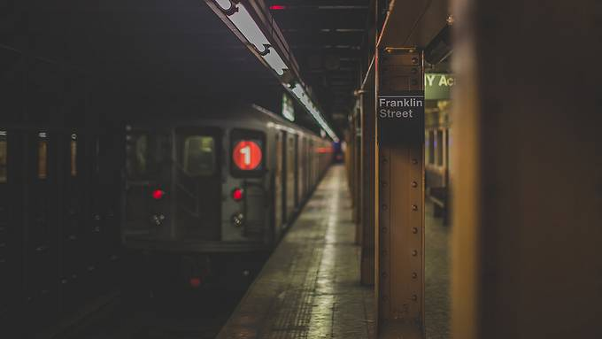 1 Train, Franklin Street Station, New York, United States of America by iesphotos - Public Transport Hubs Photo Contest