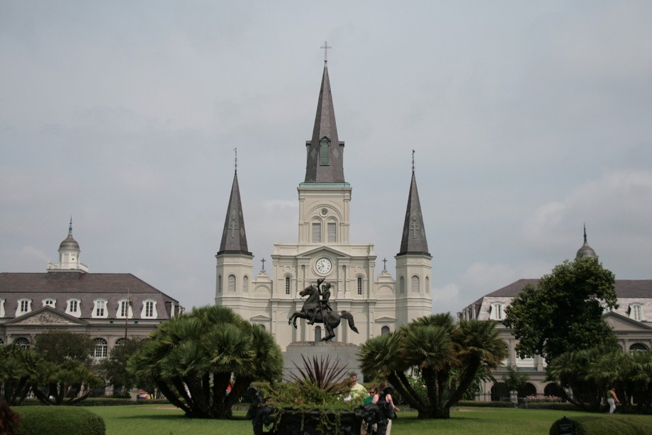 On a trip to New Orleans.  There is a gate directly in front of this and I've seen many photos of this, obviously taken through that gate.  This one is mine.