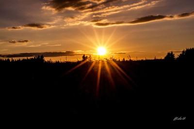 Non-filtered Sunset