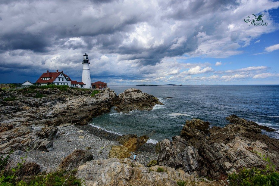On the way to Arcadia National Park, I detoured to Portland for this lighthouse. Since I got the ...
