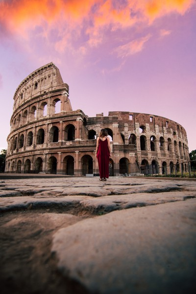 Colosseum Sunset
