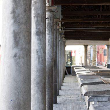 Pillars in Brugge