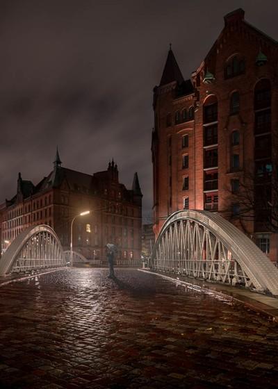 Rainy City Night