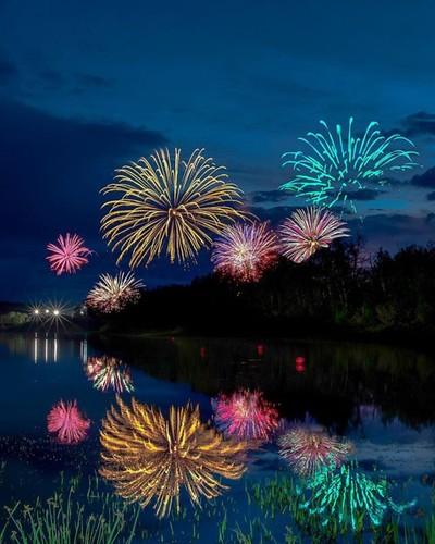 Canada151 Fireworks where sky never gets dark :)