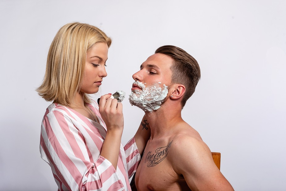 Shaving by jensfischer - The Lifestyle Project